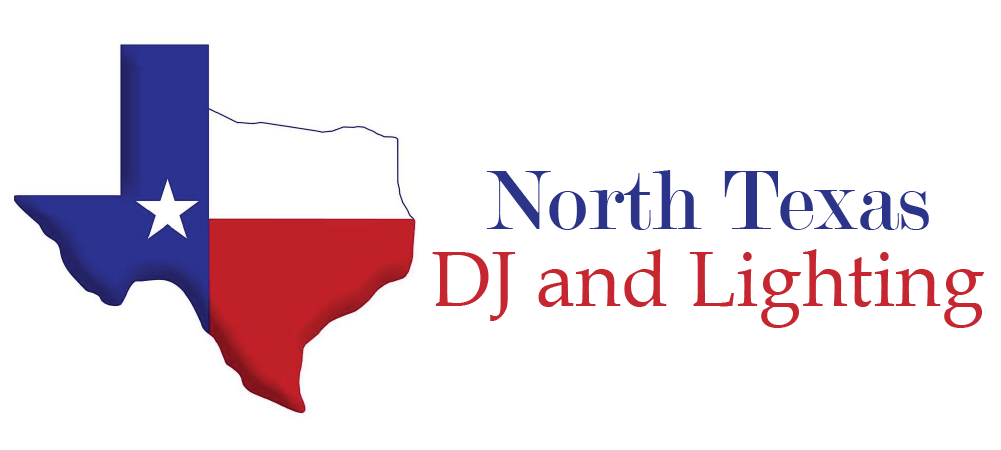 North Texas DJ and Lighting Retina Logo